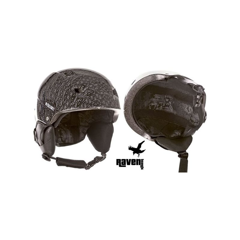 photo casque mixte Destroyer RAVEN ski snowboard