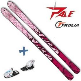 Ski alpin Girl Carve Pink enfant PALE