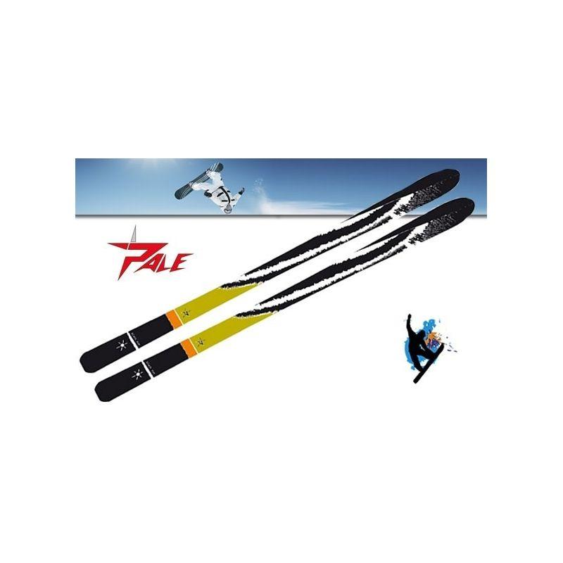 Ski alpin Black Sun enfant PALE