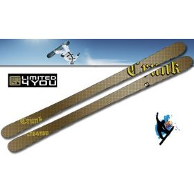 Crunk Twin Tip ski L4U
