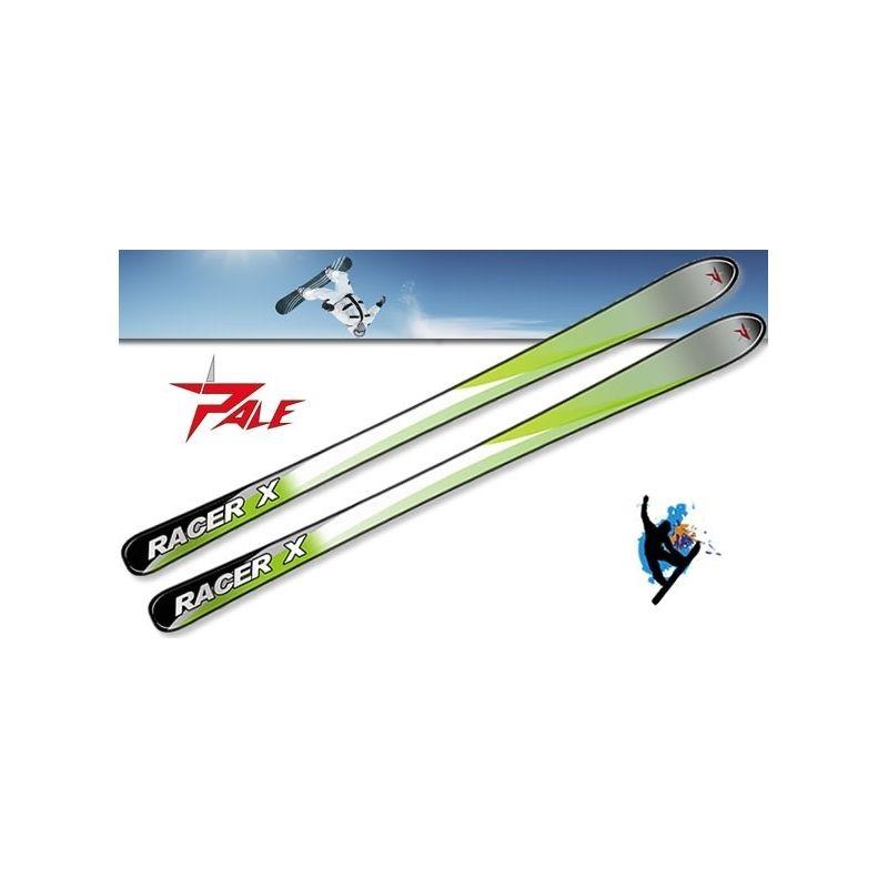 Ski alpin Racer X enfant PALE