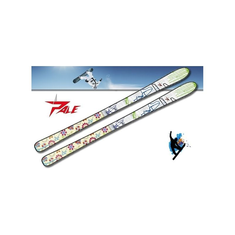Ski alpin Sketcher enfant PALE