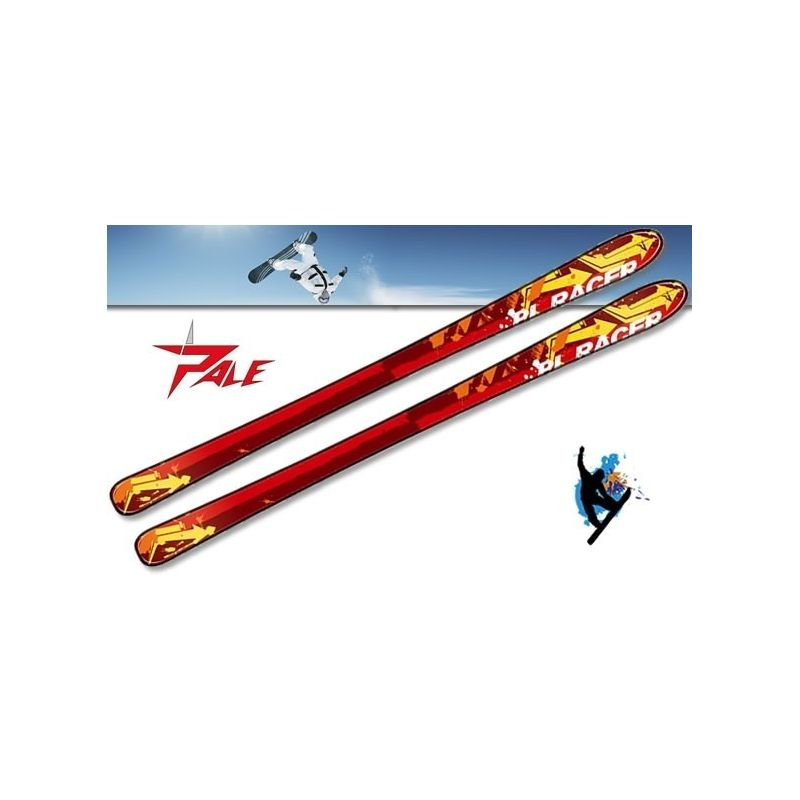 Ski alpin PL Racer Red enfant PALE