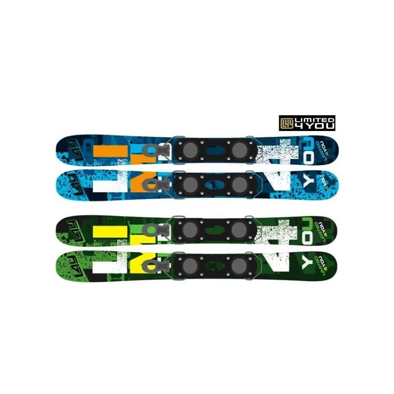 Mini ski snowblade Snow Icon 90 L4U patinette
