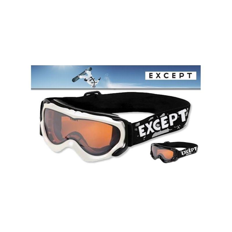 Masque de ski/snowboard enfant Zorongo EXCEPT