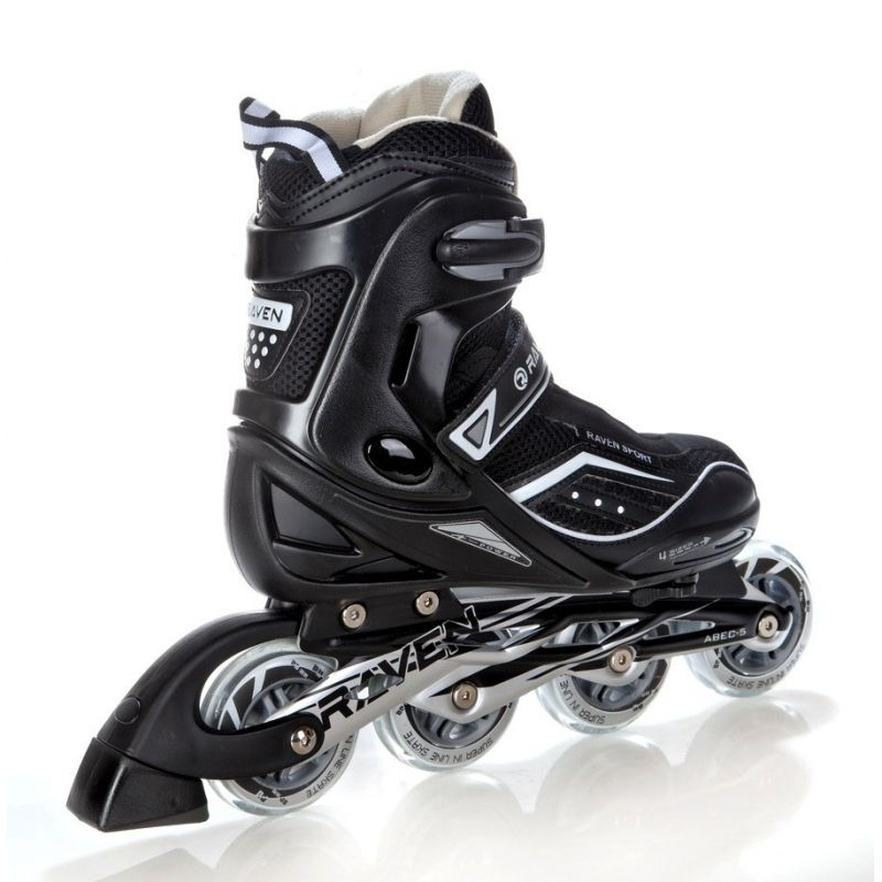 Roller Total  taille ajustable RAVEN Black
