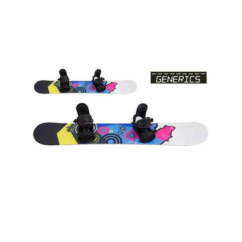 Different 158 GENERICS snowboard et fixation