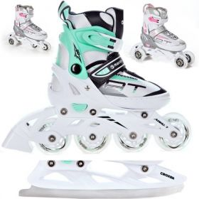 Roller Profession taille ajustable RAVEN White
