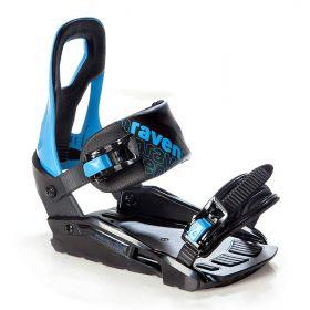 Fixation snowboard S200 RAVEN bleu