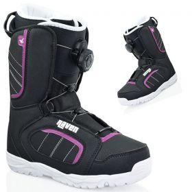 Boots Diva Atop RAVEN (femme) snowboard