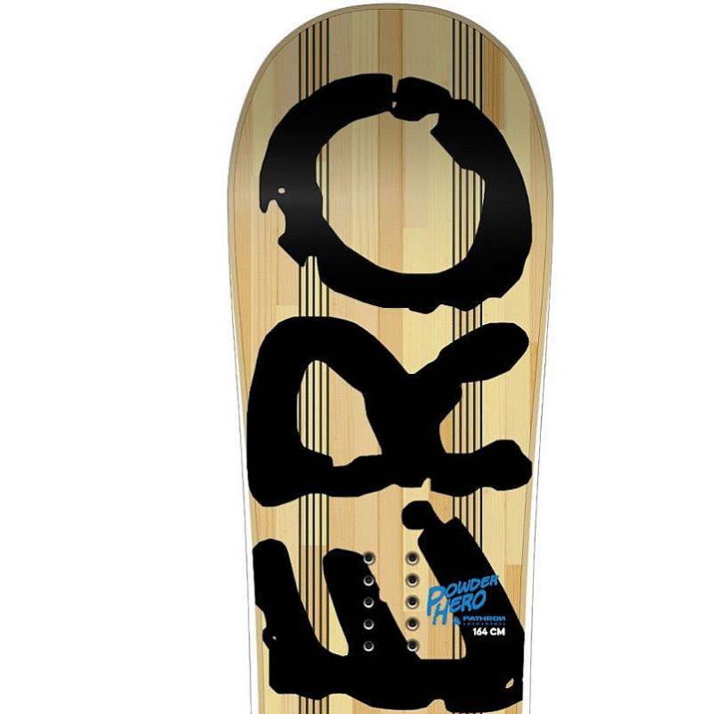 Powder Hero PATHRON snowboard