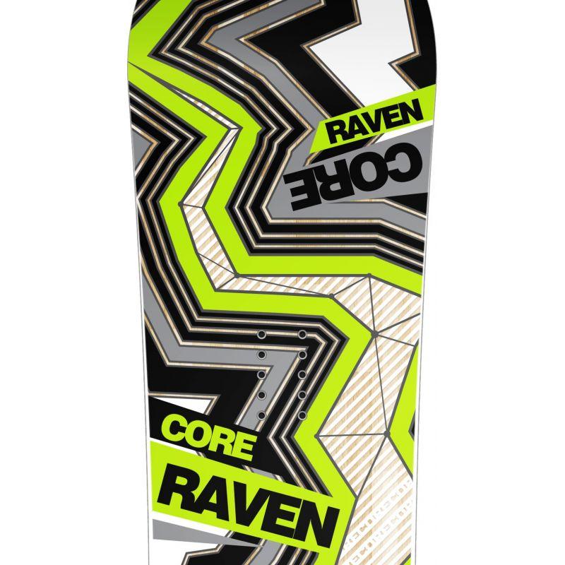 snowboard Core Carbon glossy RAVEN