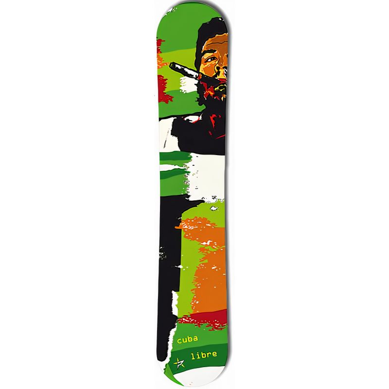 Cuba Libre Green PALE snowboard