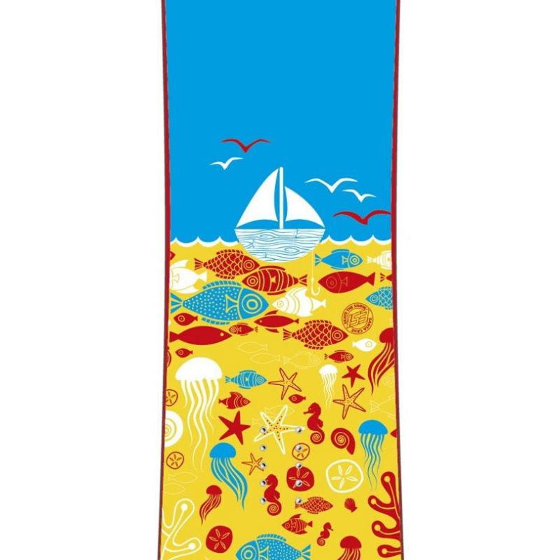 Squid 152 Santa Cruz Snowboard