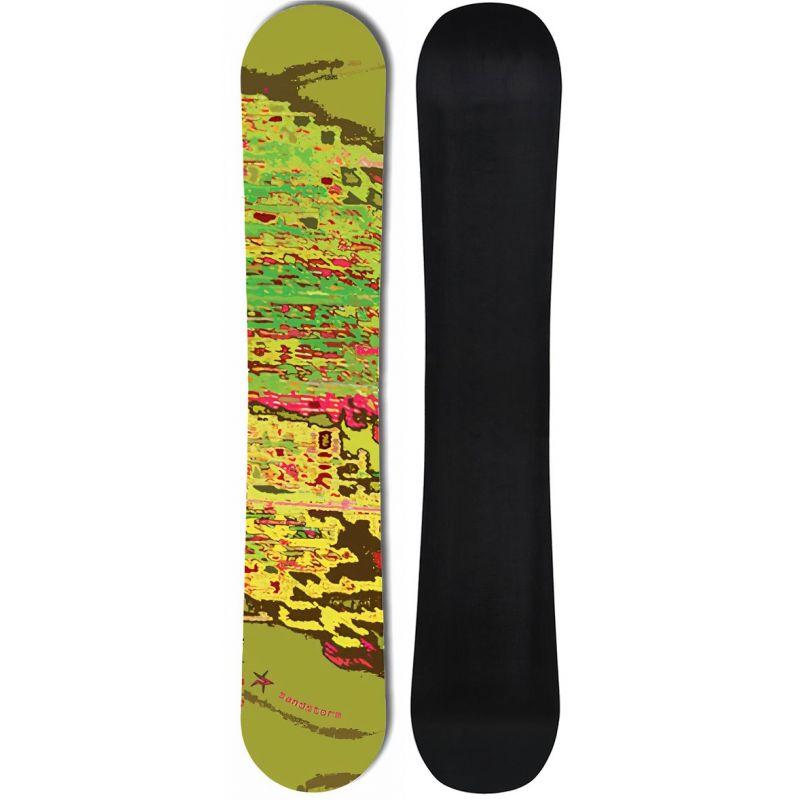Sandstorm Green PALE snowboard