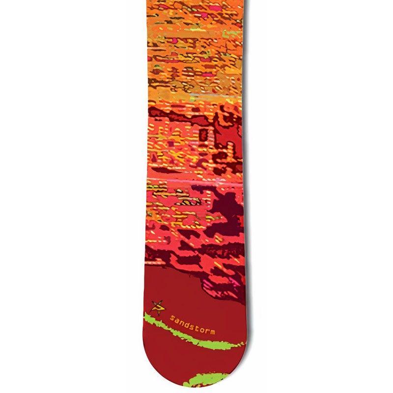 Sandstorm Red PALE snowboard