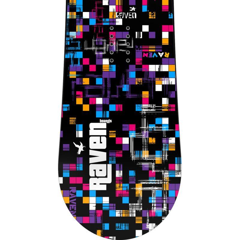 Grid black RAVEN snowboard