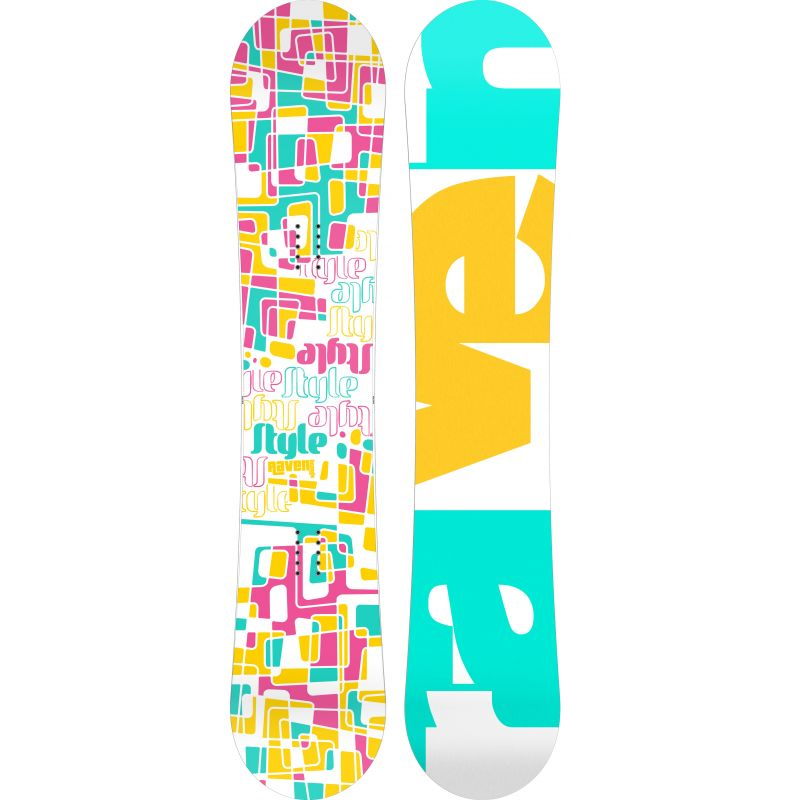 Style RAVEN snowboard femme