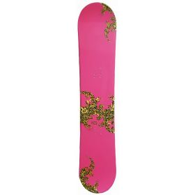 Pink 132 PALE snowboard