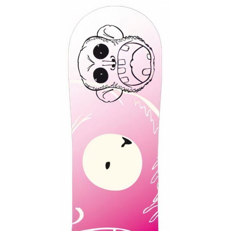 Monkey Pink PALE snowboard