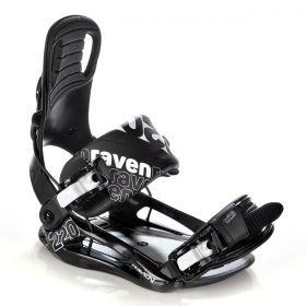 Fixation S220 Raven snowboard noir