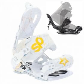 Fixation rapide Core Girl white SP snowboard