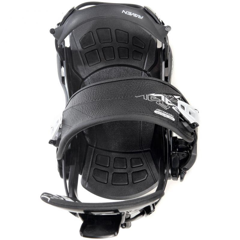 Fixation Rapide RAVEN FT270 fastec snowboard noir