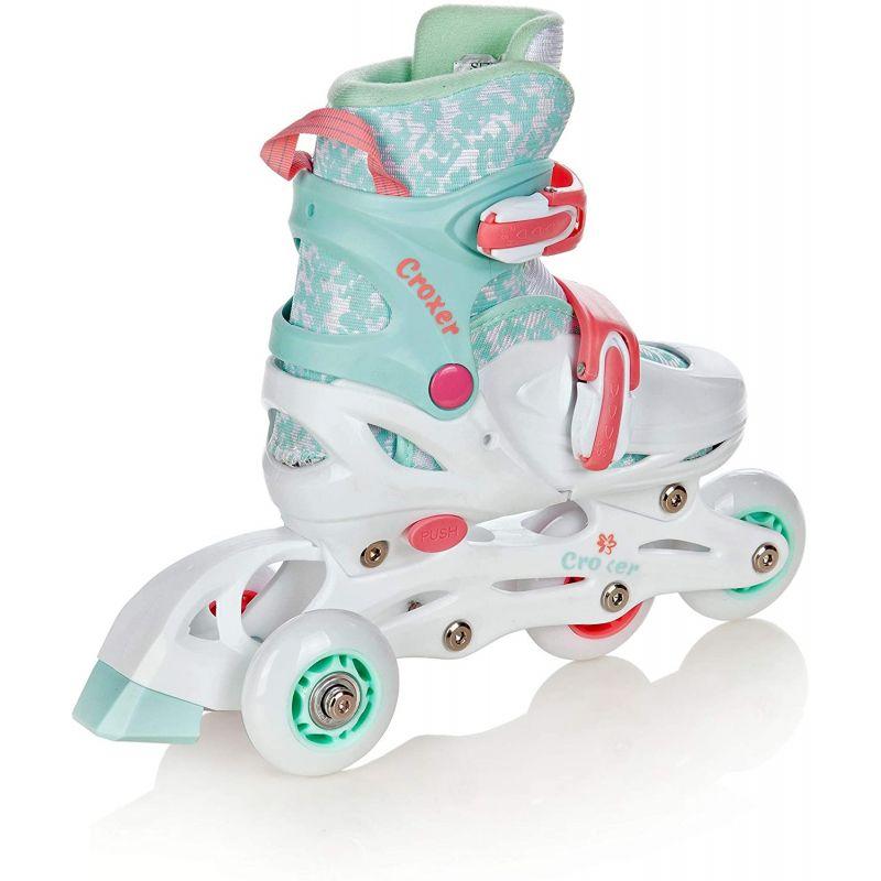 Roller Inez taille ajustable CROXER avec roue qui s eclaire