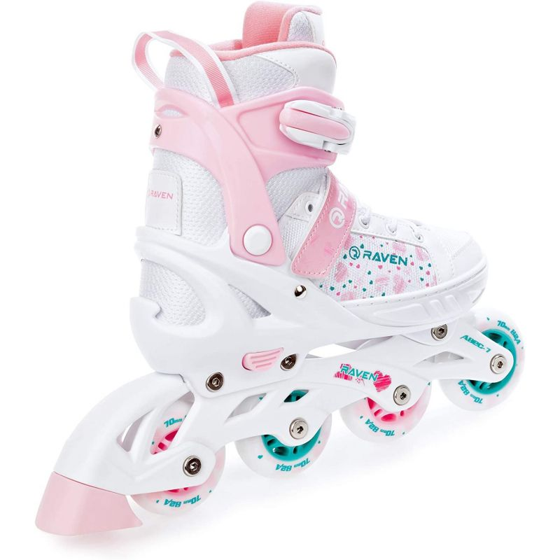 Roller Rosi roue lumineuse LED taille ajustable RAVEN
