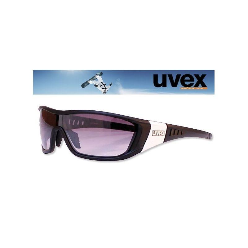 Lunettes Chad UVEX noir mat unisexe